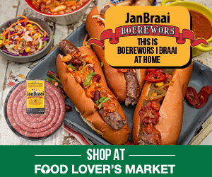 Food Lover's Market launches exclusive partnership with Jan Braai Boerewors in time for Heritage Day